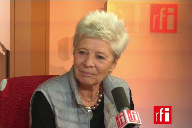 Geneviève Jacques, présidente de la Cimade.