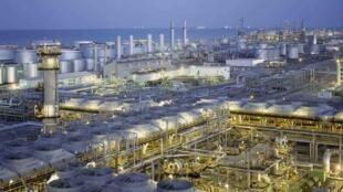 تأسیسات شرکت  Aramco در عربستان سعودی