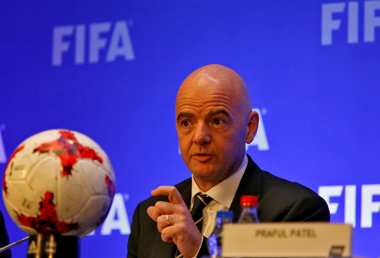 Rais wa  FIFA Gianni Infantino