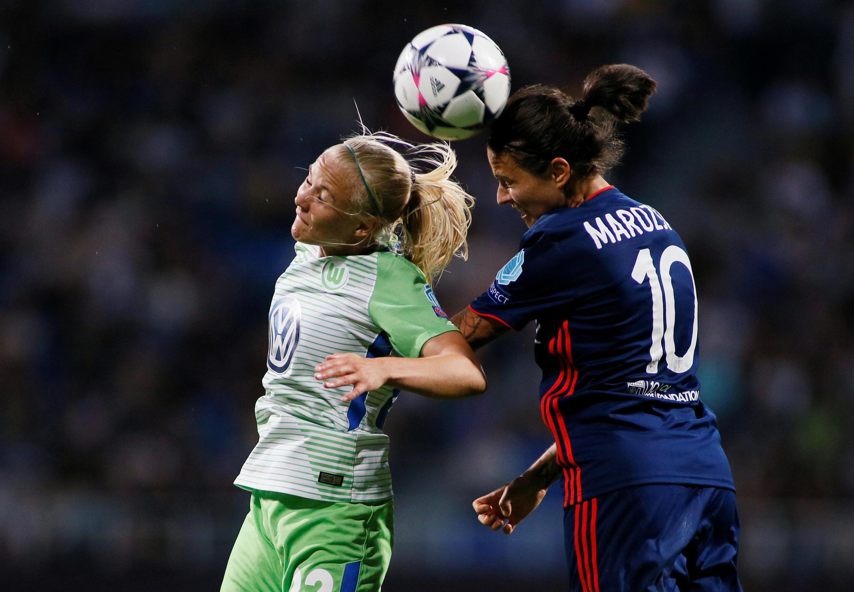 The 2018 women's Champions League Final featured Olympique Lyonnais and VfL Wolfsburg.