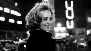 Jeanne Moreau dans «Ascenseur pour l'échafaud», de Louis Malle. 1958.