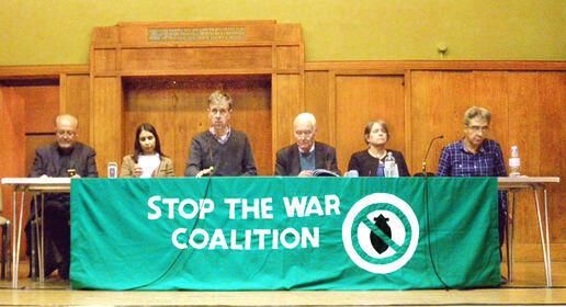 """Liên minh """"Hãy chấm dứt Chiến tranh"""" (Stop the War Coalition) kêu gọi biểu tình phản đối can thiệp quân sự vào Syria (DR)"""
