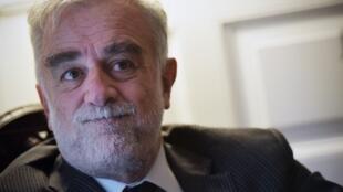 L'ancien procureur de la Cour pénale internationale Luis Moreno Ocampo en septembre 2017.