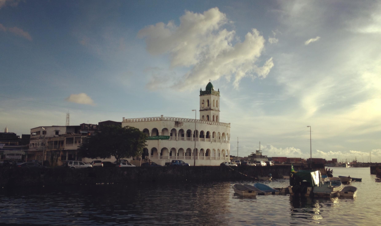 La mosquée principale de Moroni, Comores.
