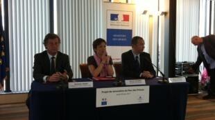 Chantal Jouanno a annoncé une subvention de 10 millions d'euros pour la rénovation du Parc des Princes.