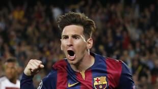 Lionel Messi, avançado argentino do FC Barcelona.