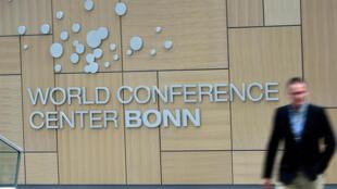 Centre des conférences de Bonn, où ont lieu les discussions sur le climat.