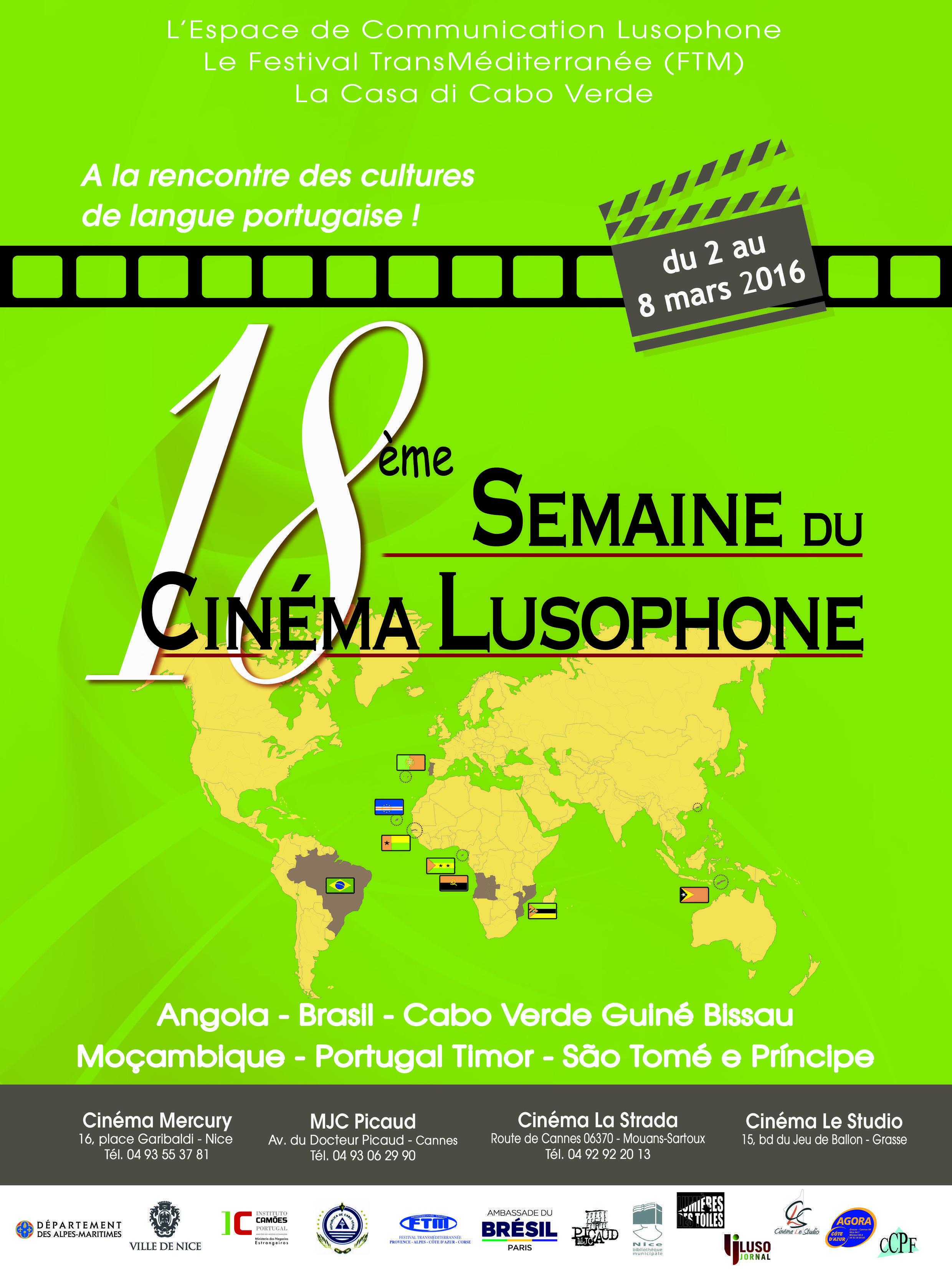 18ª edição da Semana do Cinema Lusófono em Nice