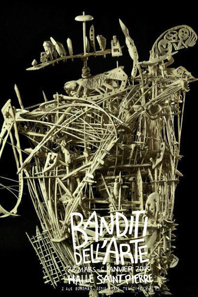 """""""El Nuevo Mundo"""" de Francesco Toris es la pieza central de la muestra """"Banditi dell'Arte""""."""