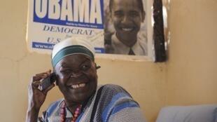 A Kojelo, où vit la grand-mère du président américain, tous les villageois ont célébré avec ferveur la victoire de Barack Obama, le 7 novembre 2012.