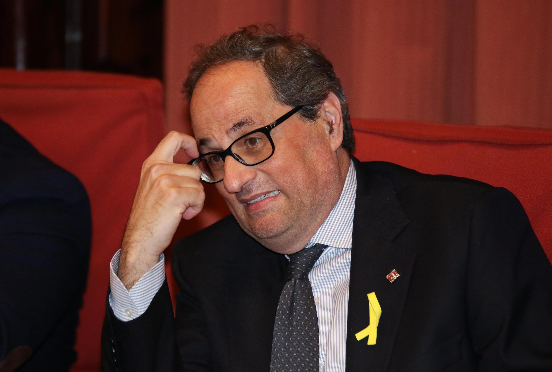 Shugaban gwamnatin yankin  Catalonia, Quium Torra,