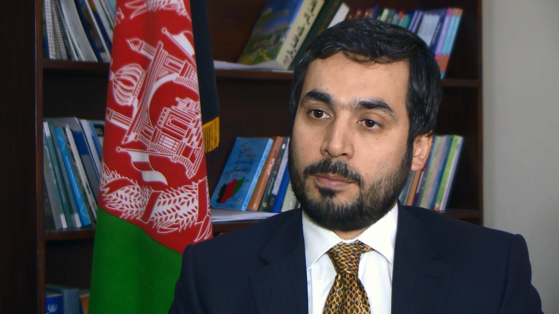 صبغت الله احمدی، سخنگوی وزارت امور خارجه افغانستان
