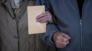 Espagne - Madrid - Élections régionales - Vote