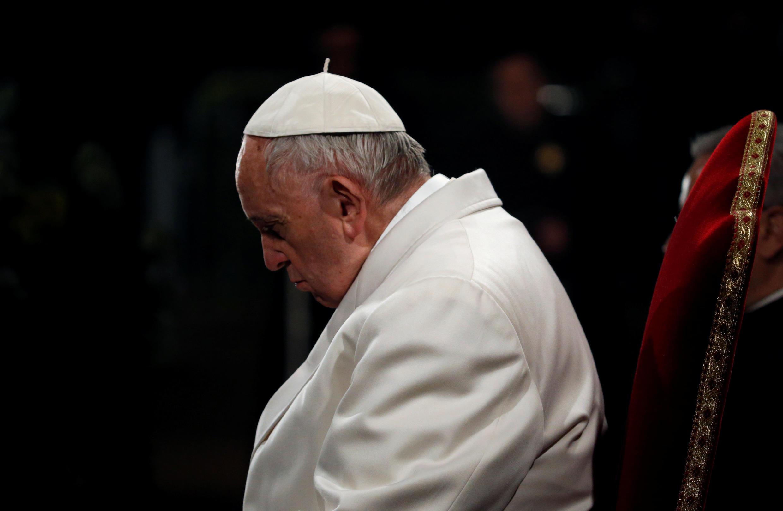 Đức giáo hoàng Phanxicô. Ảnh chụp tại Roma ngày 30/03/2018.