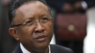 Rais wa Madagascar, Rajaonarimampianina akiwasili Brussels kushiriki mkutano kati ya viongozi wa Afrika na Umoja wa Ulaya.