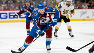 Colorado's Nathan MacKinnon is among three finalists for this year's Hart Trophy award, the NHL said Thursday