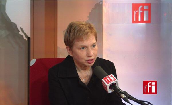 Laurence Parisot, ancienne présidente du Medef.