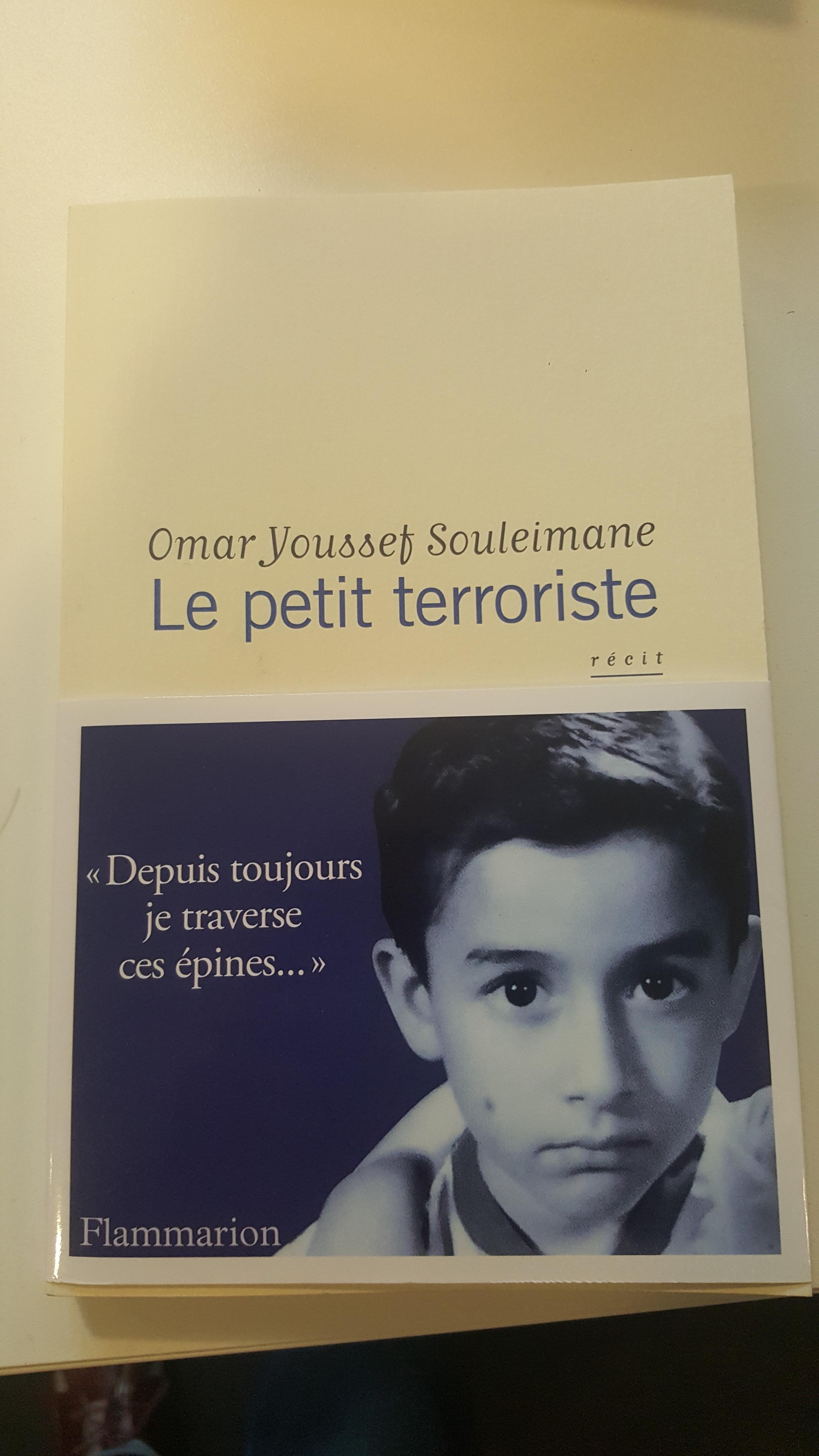 Couverture du livre «Le petit terroriste», d'Omar Youssef Souleimane.