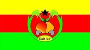 Logotipo do Madem-G15, segunda força política da Guiné-Bissau