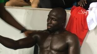 Le lutteur sénégalais Adama Diatta.