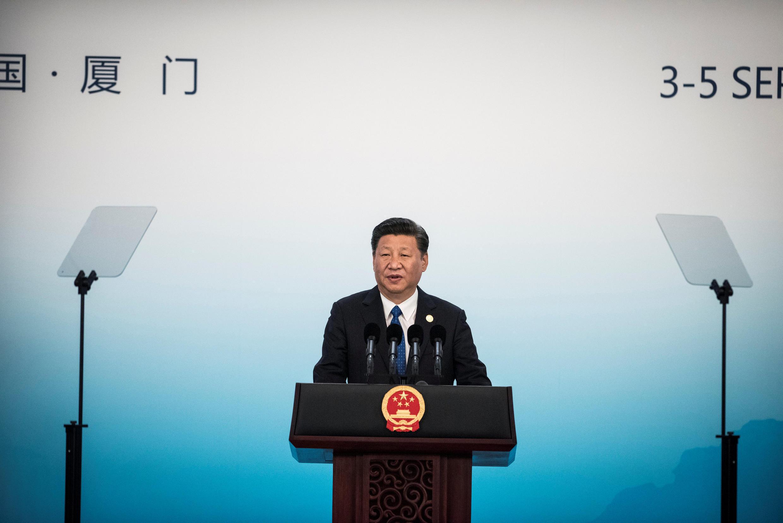 Shugaban China Xi Jinping a wurin taron Brics a Johannesburg