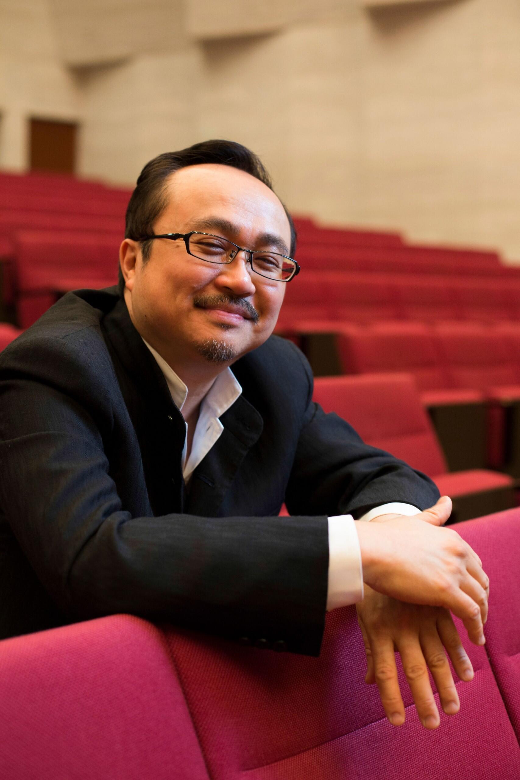 Nhạc sĩ Đặng Thái Sơn, giải Chopin 1980 và thành viên ban giám khảo 2015.