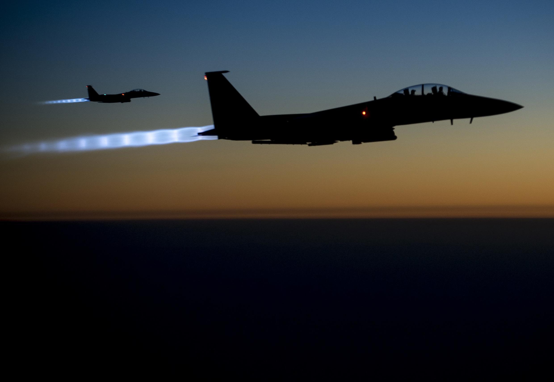 L'armée américaine a mené une frappe aerienne contre des milices pro-iranienne en Irak le dimanche 27 juin 2021 (illustration).