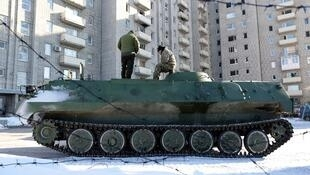 Авдеевка, 30 января 2017.