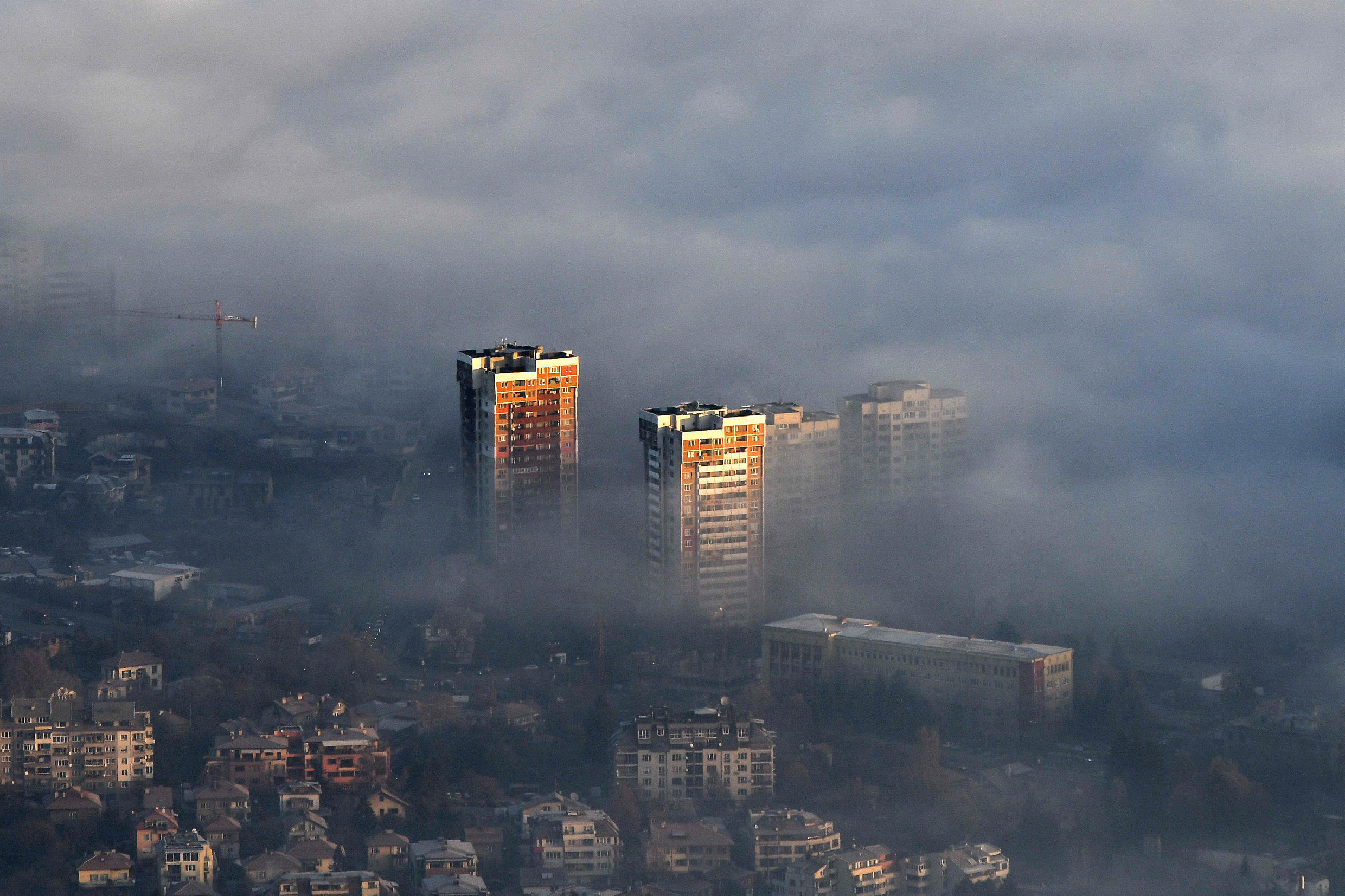 The World Health Organization estimates that air pollution is responsible for at least seven million people every year