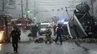 A explosão de um ônibus na cidade russa de Volgogrado no dia 30/12/2013 deixou pelo menos 10 mortos.