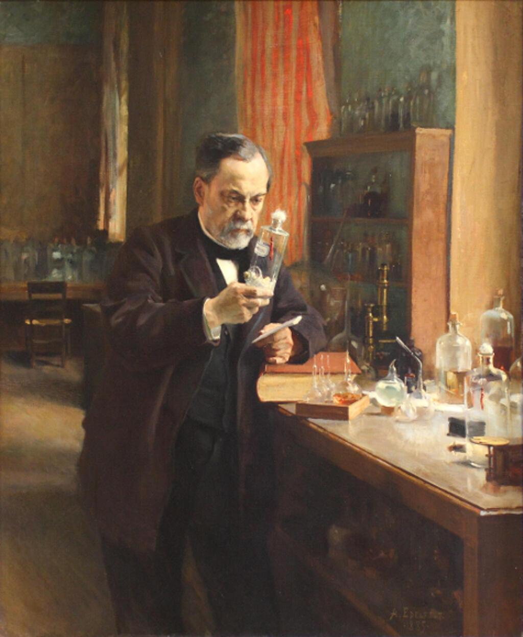 Louis Pasteur- Albert Edelfelt