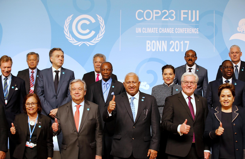 波恩聯合國氣候變化第23屆峰會,2017年11月15日。