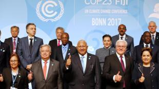 COP23, à Bonn (Allemagne), le 15 novembre 2017.
