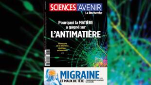 La revue Sciences et avenir de septembre 2020.