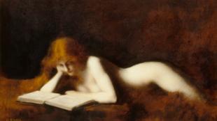 Жан-Жак Эннер. Читательница, 1883