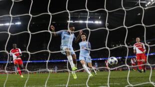 L'ultime but marqué par Manchester City face à Monaco, en Ligue des Champions, le 21 février 2017.