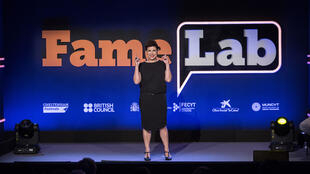 La investigadora Ana Peiro llegó segunda en el FameLab 2017.