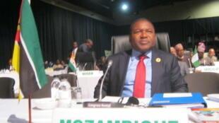Filipe Nyusi, le président du Mozambique.