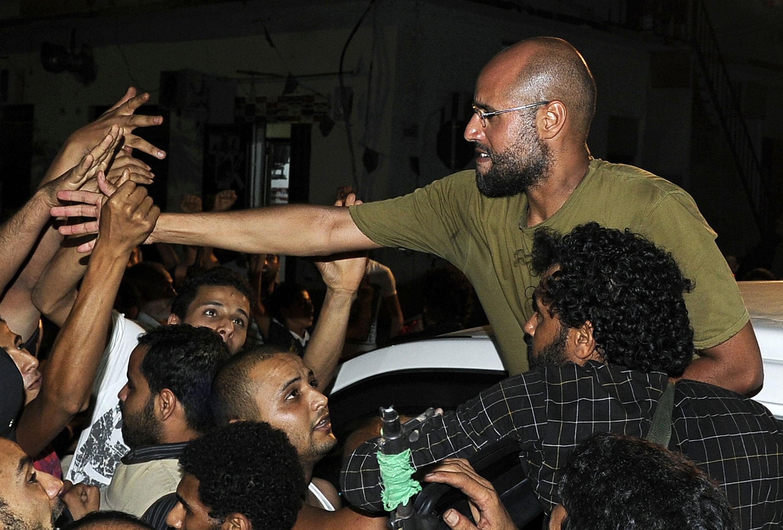 """Сын Каддафи Сейф аль-Ислам заявляет: """"Триполи находится под нашим контролем"""""""