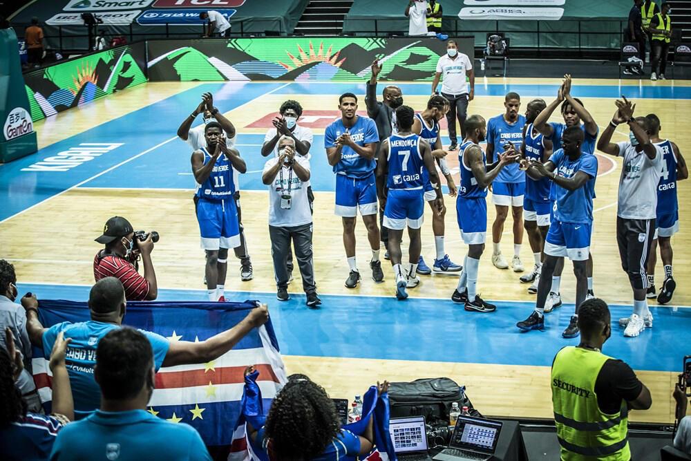 Cabo Verde - Afrobasket - Basquetebol - Desporto - RDC - Basket-Ball - Cabo-Verdianos - Basket-Ball - Cap-Vert - Senegal - CAN Basket