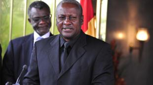 Tsohon shugaban kasar Ghana John Dramani Mahama