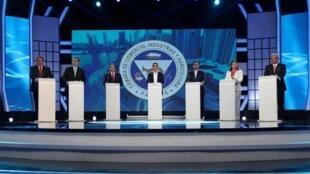Debate entre los candidatos presidenciales, el pasado 10 de abril de 2019.