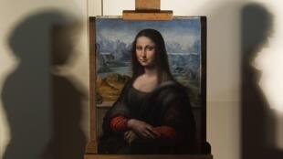 """""""Мона Лиза"""" из музея Прадо. Мадрид 01/02/2012"""