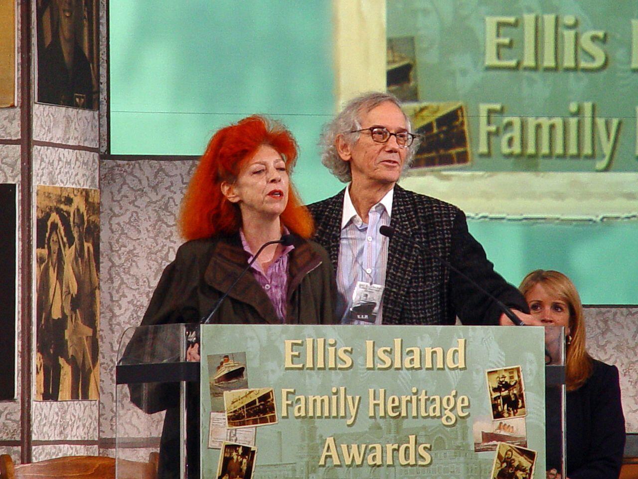 Христо и Жанн-Клод в 2005 году.