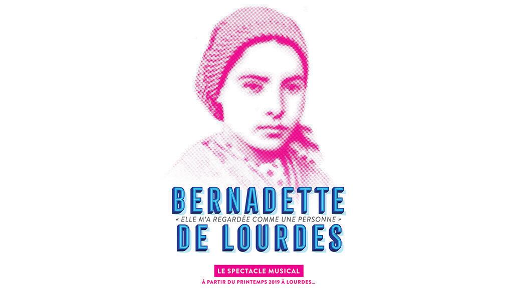 Affiche de la comédie musicale «Bernadette de Lourdes».