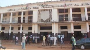 Sede da União Nacional dos Trabalhadores da Guiné - UNTG -
