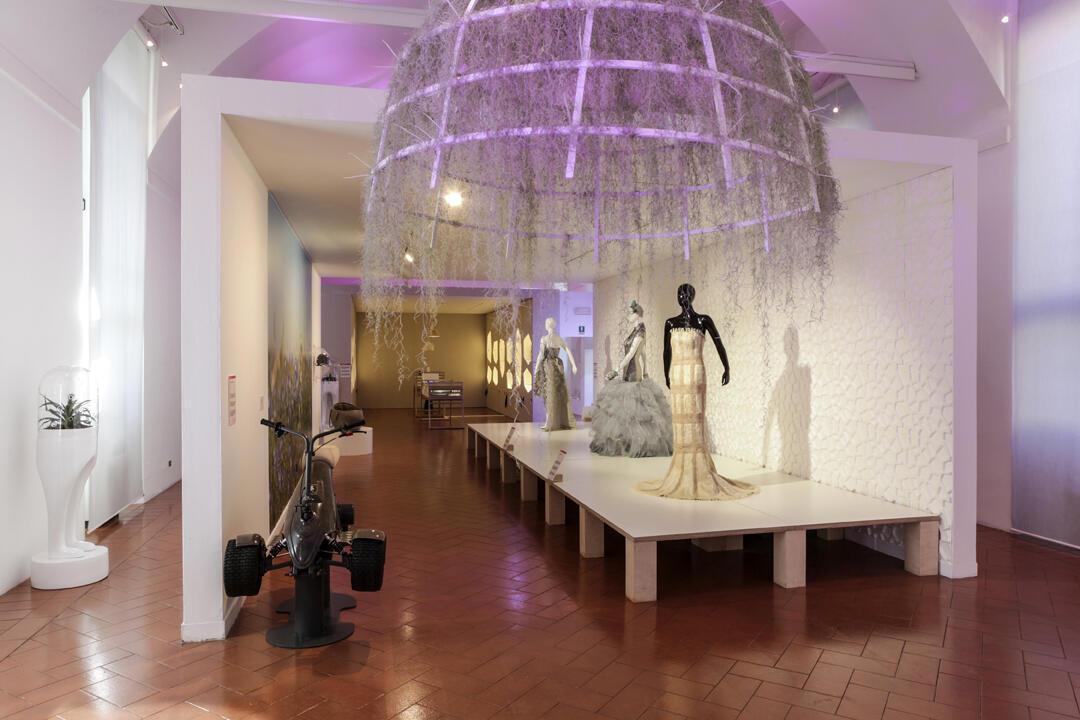 Выставка тканей будущего Futuritextiles в Милане