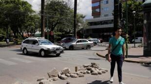 La calama regresó el miércoles a Cochabamba, pero en el norte de la ciudad se ha pertrechado ante la posible llegada de partidarios de Evo Morales.