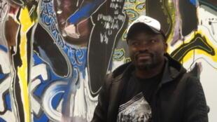 Le peintre sénégalais Soly Cissé.
