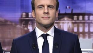 Mgombea urais nchini Ufaransa Emmanuel Macron
